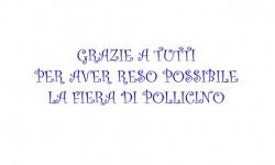 Ringraziamenti Fiera Pollicino del 29 marzo 2014